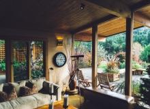 Zabudowa drewniana salonu 04